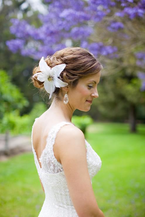 незатейливые свадебные прически