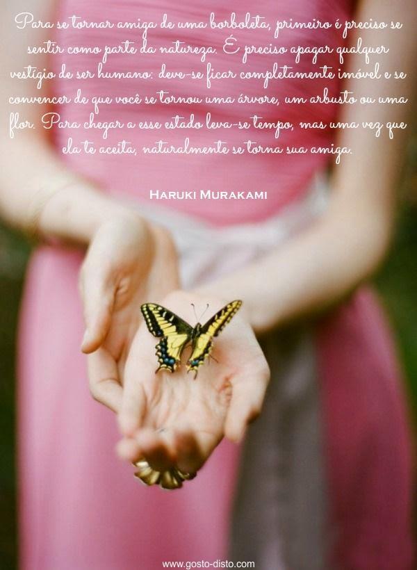 Amiga de  borboletas