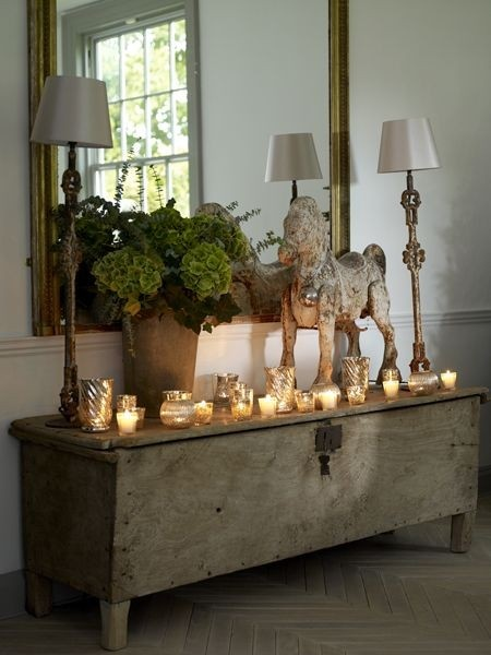 Rustic Foyer Chest : Neutral heaven interior design and mood creation rustic