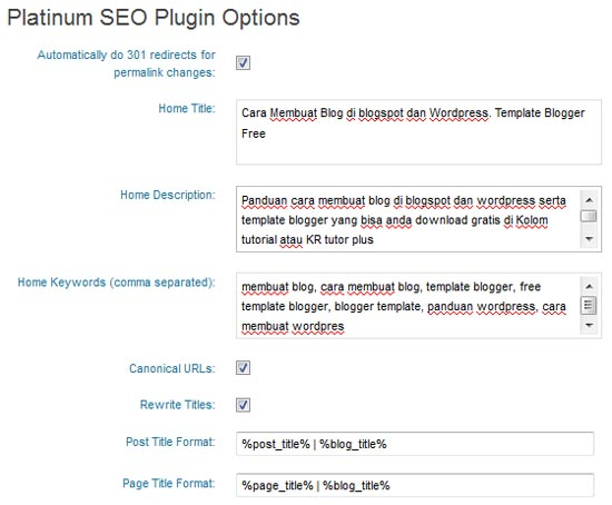 platinum seo pack