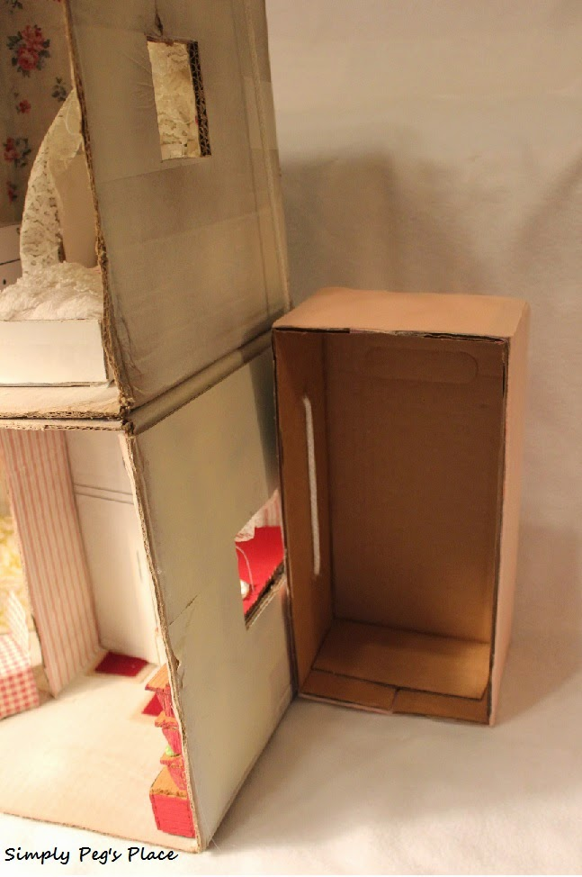 Simply Peg 39 S Place A One Of A Kind Cardboard 39 Barbie