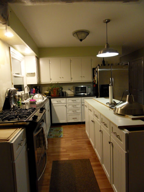 Kitchen Renovation Island Cabinets