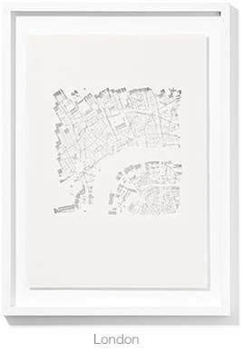 {Art} Paper metropolitan cityscapes