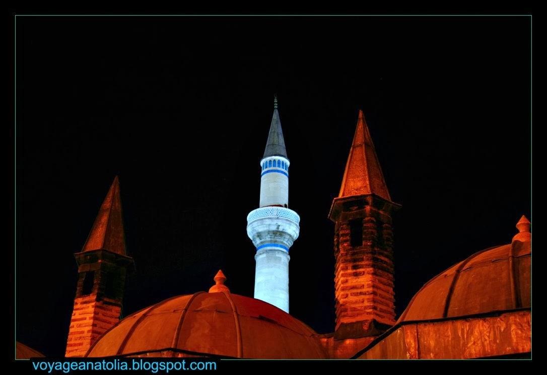 Konya Mevlana Müzesi Minareler