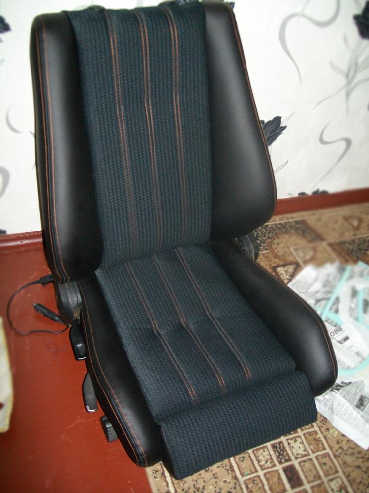 Перешить сиденье