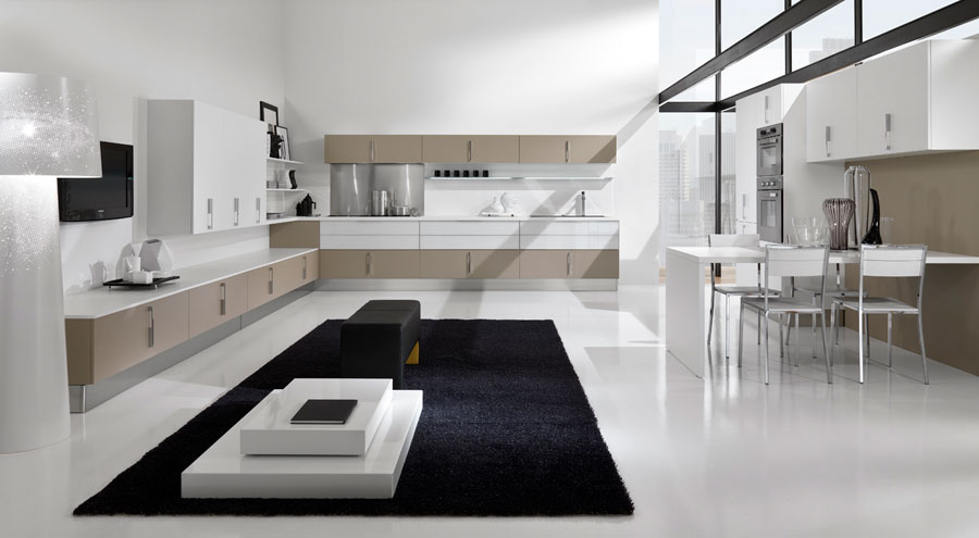 Muebles De Cocinas : Ambientes seductores de concepto abierto cocinas con