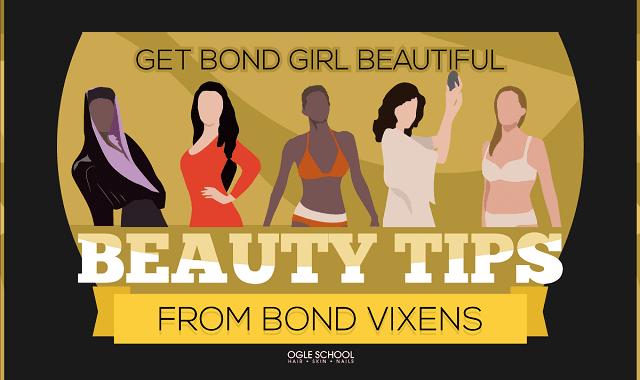 Get Bond Girl Beautiful Beauty Tips from Bond Vixens