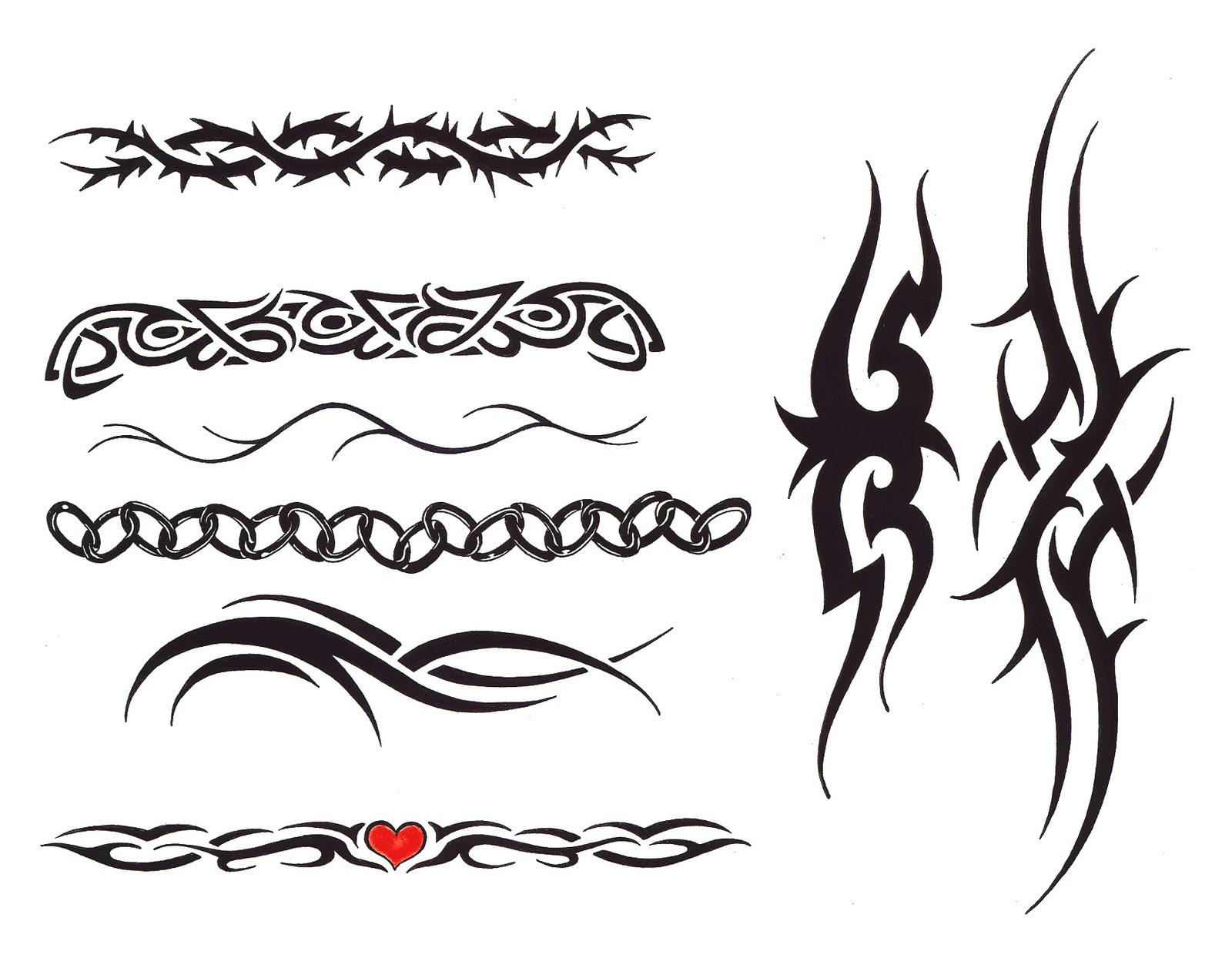 Tribal armband tattoos designs