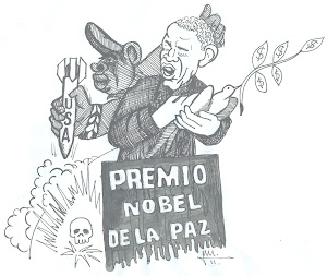 Vaya premio nobel de la paz