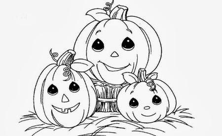 Banco de Imagenes y fotos gratis: Calabazas de Halloween para Pintar ...