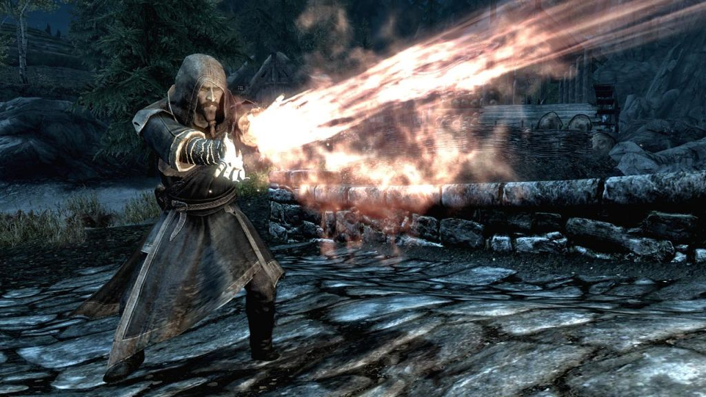 Post Skyrim Screens here - Page 2 Stream-of-fire1