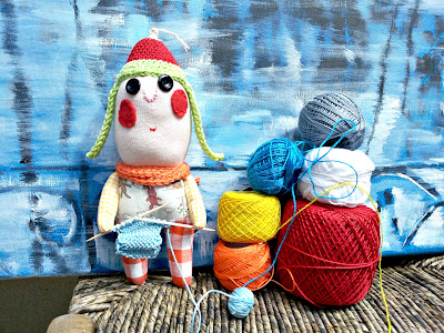 tricot poupee doll knitting