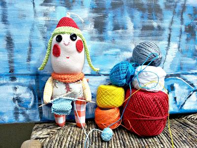 tricot poupee doll knitting