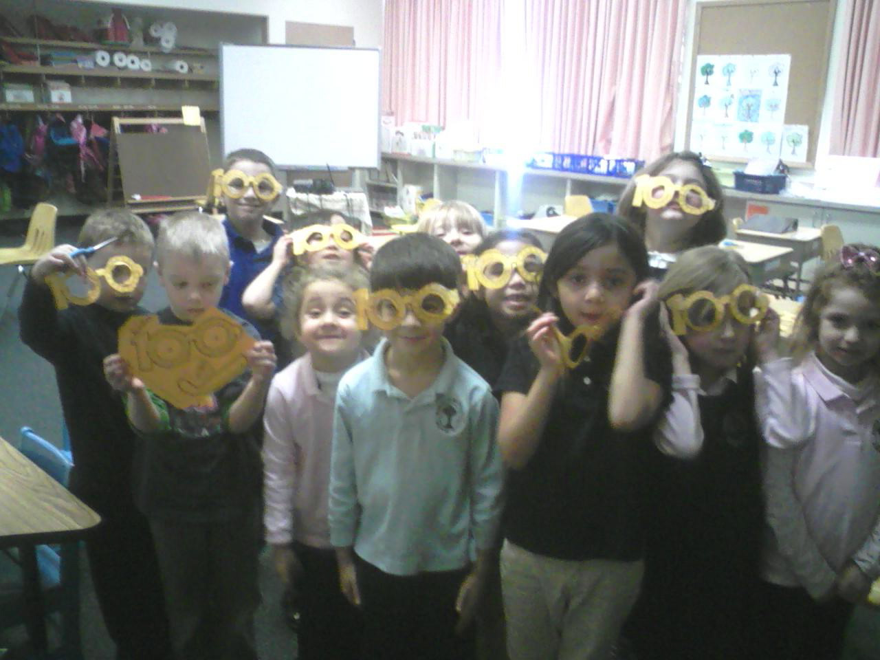 the 100th day activities