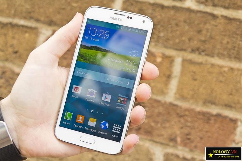 Samsung galaxy S5 thiết kế