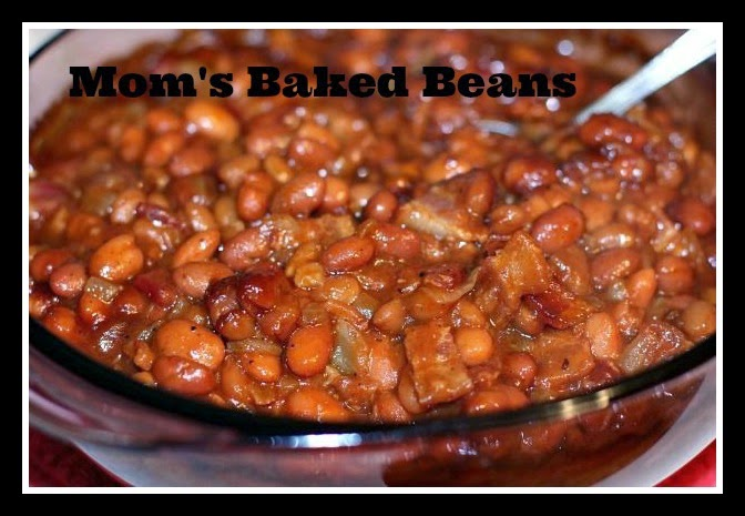 Two Teens And Their Mama: Mom's Baked Beans