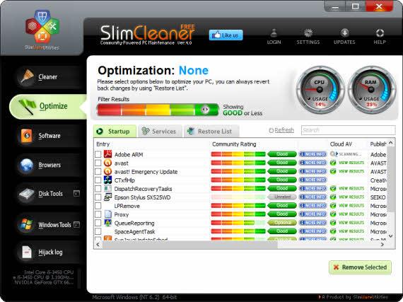 Limpia y optimiza tu equipo con SlimCleaner