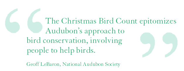 Quote from Geoff LeBaron, Nat'l Audubon Society