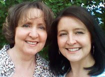 Deanna and I co-author chick-lit and YA novels
