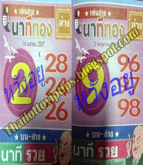 Thai Lottery 100% sure Down 02-05-2014