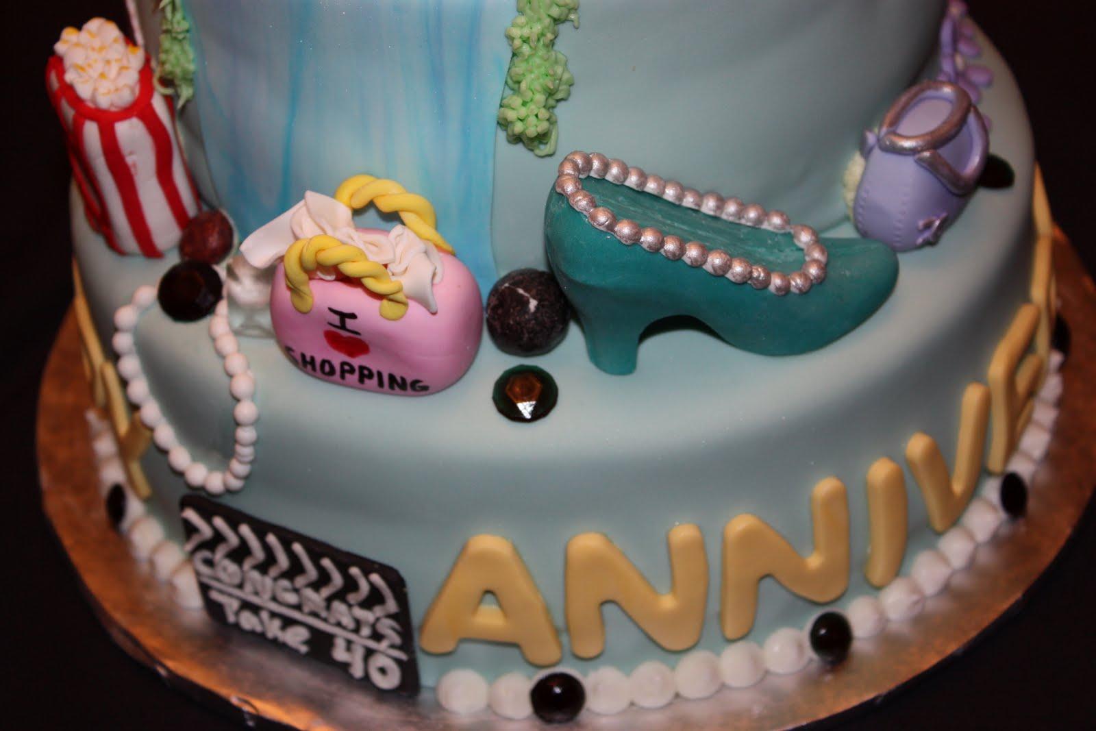 Cakes anniversary design