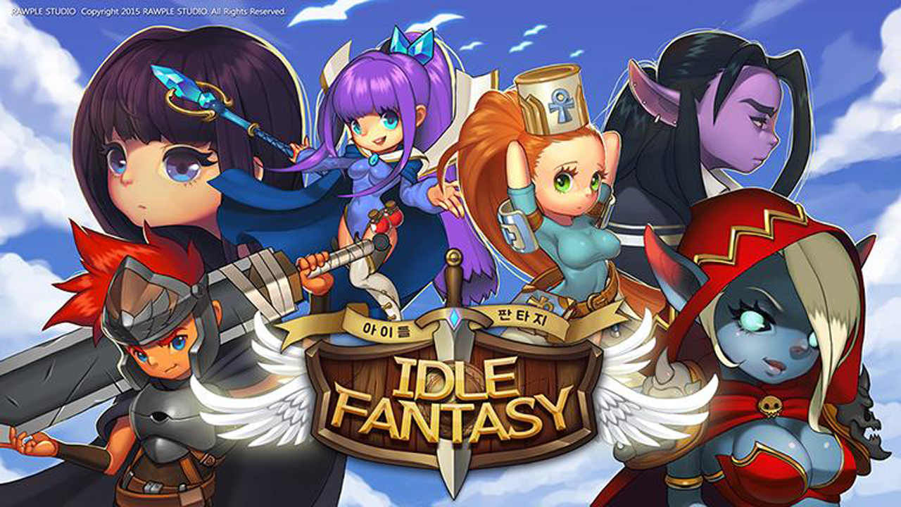 IDLE FANTASY (KR) Gameplay IOS / Android