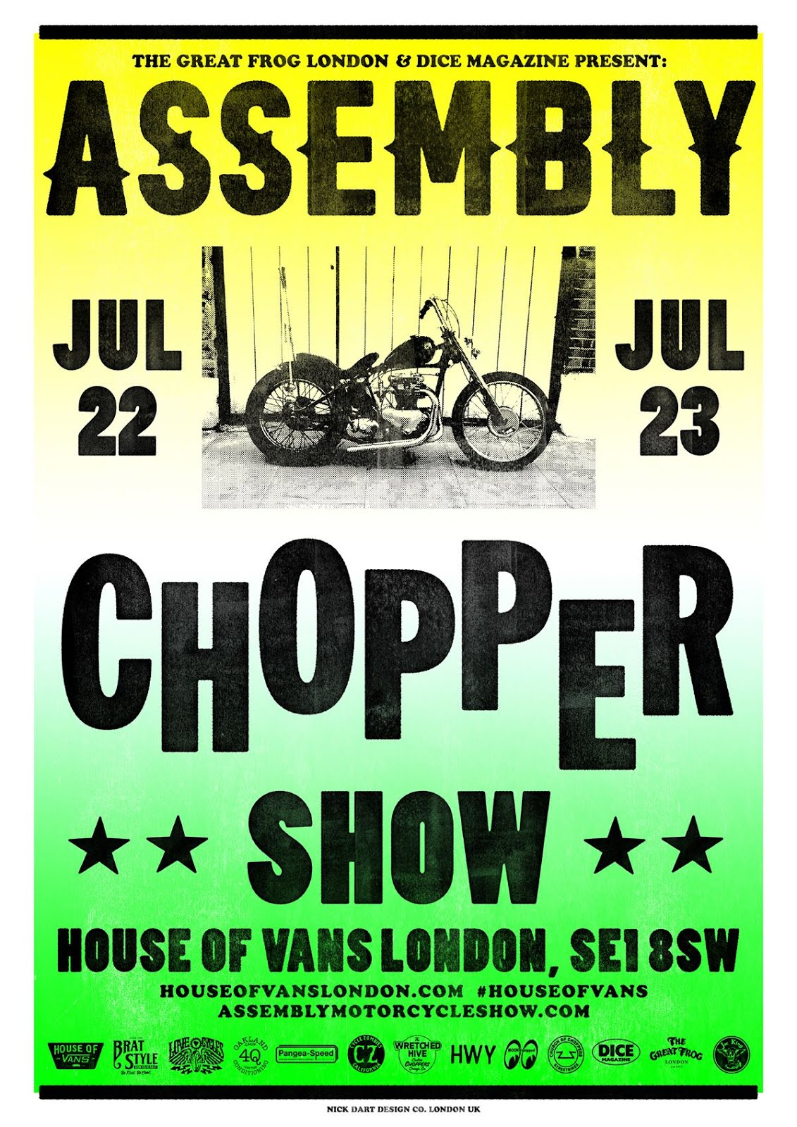 // ASSEMBLY CHOPPER SHOW