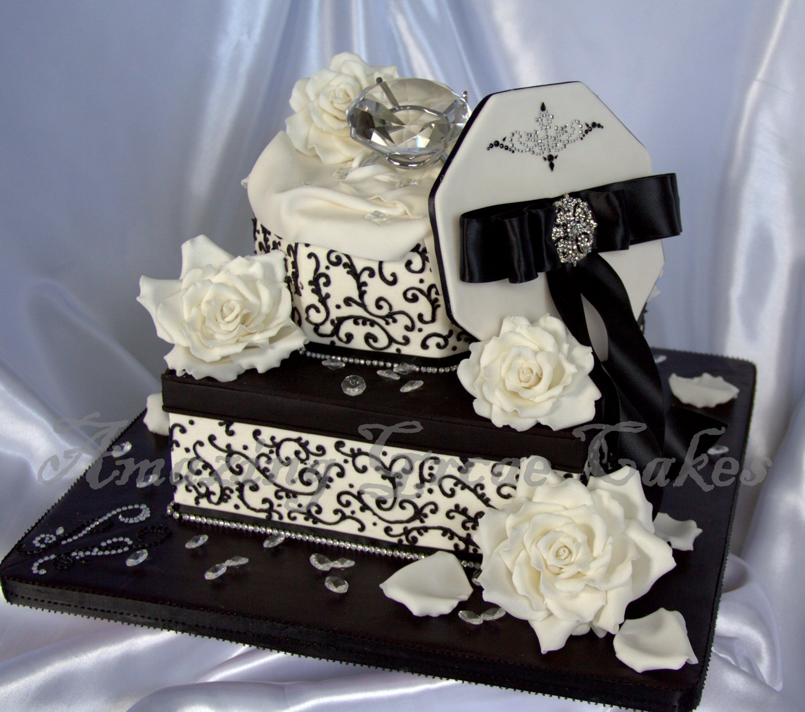 Amazing Grace Cakes Engagement Cake