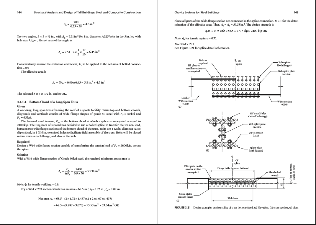 Structural Engineering analysis essay template