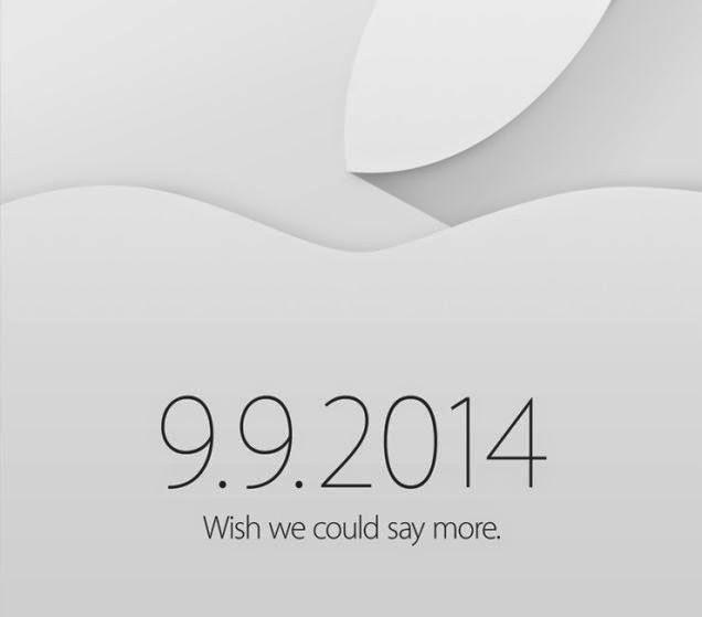 Invitación Apple 2014