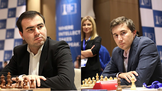 Copa del Mundo de Ajedrez 2015 - Shakhriyar  Mamedyarov - Sergey Karjakin