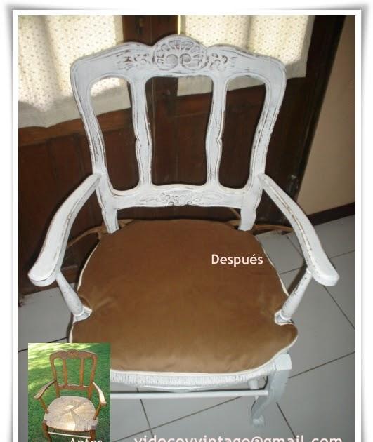 Videcoyvintage deco sill n estilo provenzal reciclado - Sillon estilo provenzal ...