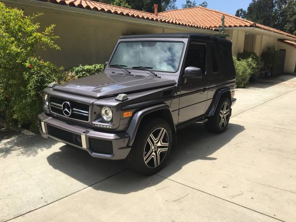 Mercedes g wagon convertible g500 amg for sale in the usa for Mercedes benz g class cabriolet for sale