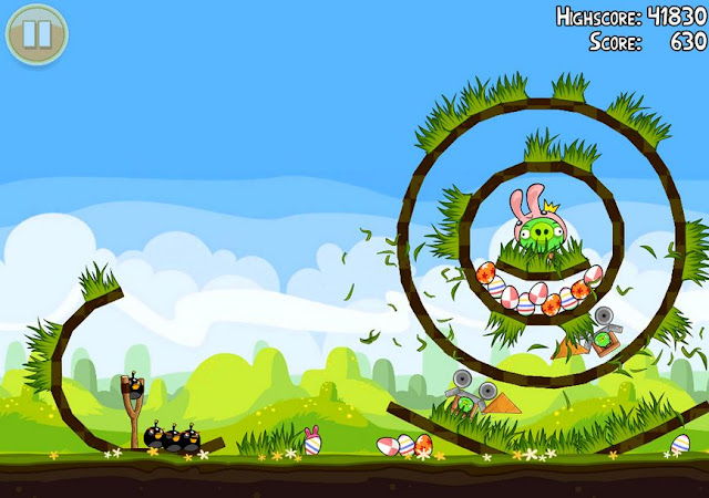 Angry Bird Season Screenshots 2