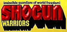 Mattel Shogun Warriors Logo