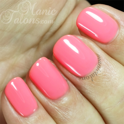 Purjoi One Step Gel Polish Baby Doll Swatch