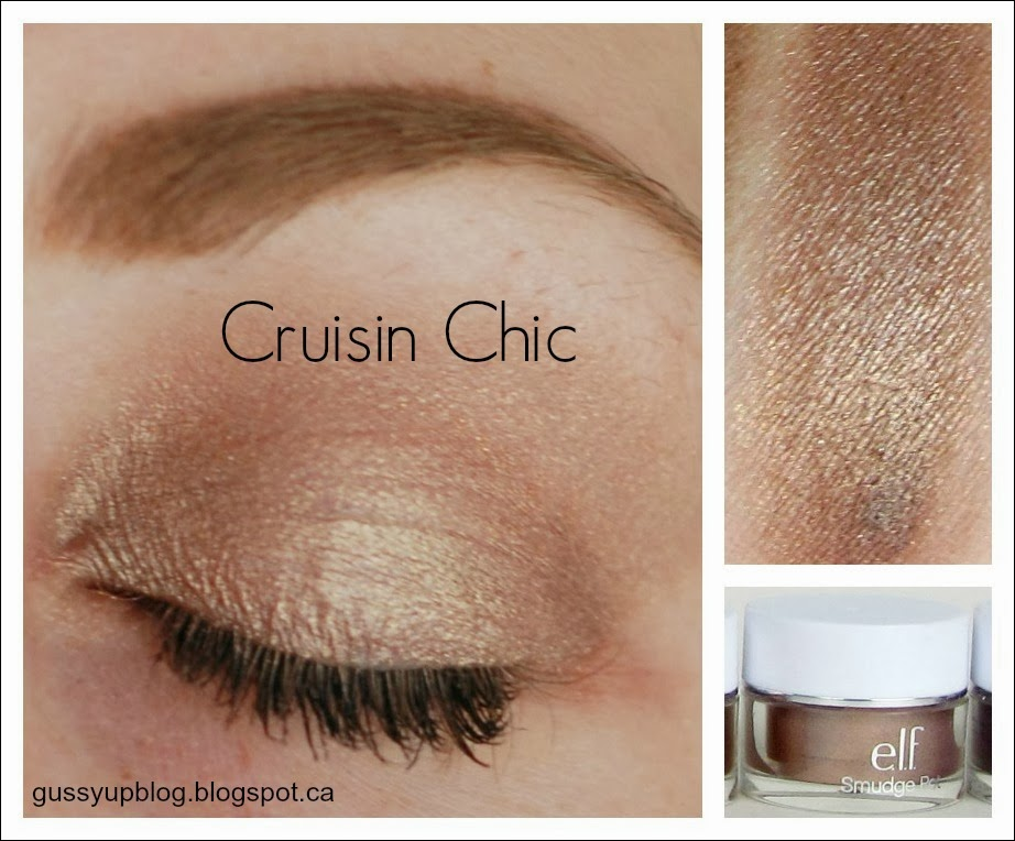 e.l.f. Essential Smudge Pots, Cruisin Chic, Review and Swatches