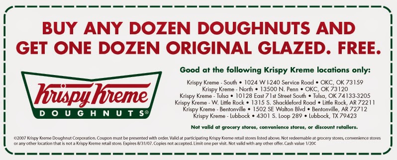 Discounts average $6 off with a Krispy Kreme promo code or coupon. 16 Krispy Kreme coupons now on RetailMeNot.