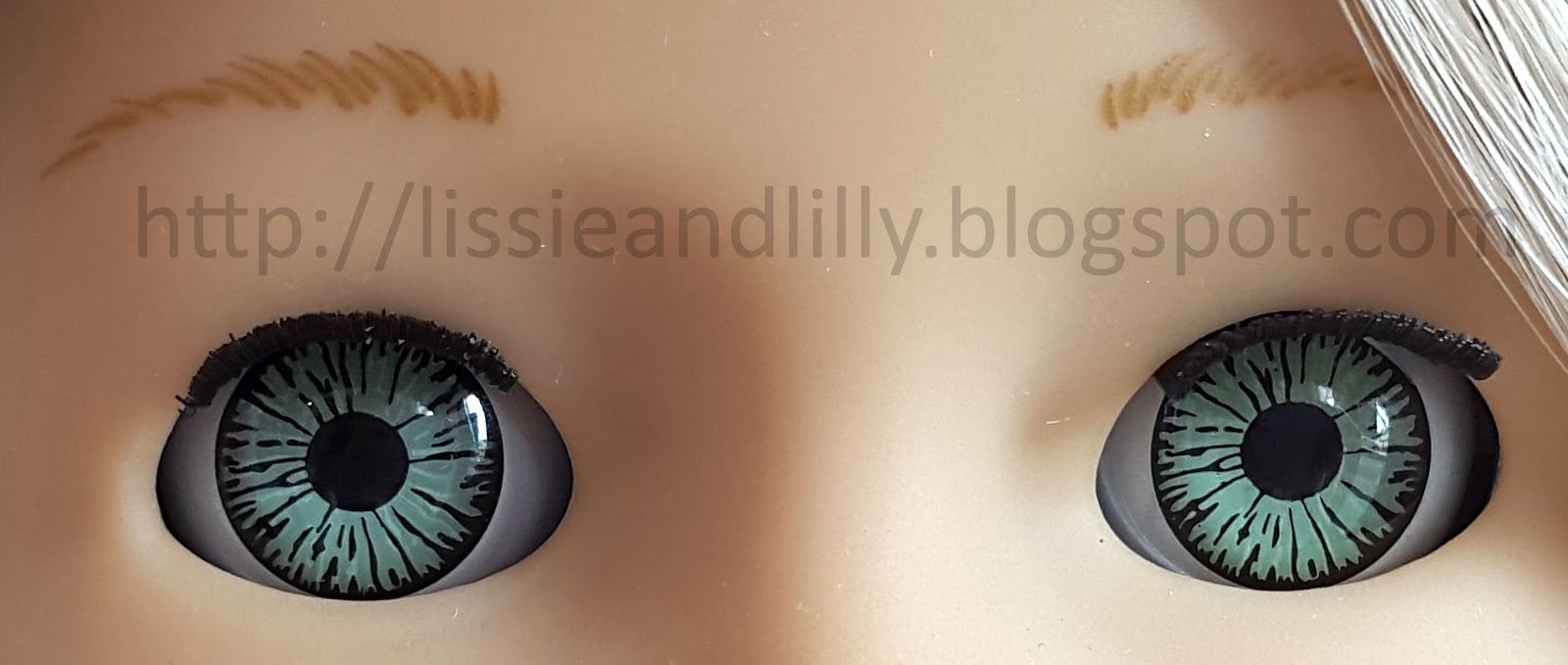 Lissie lilly ag eye colors caroline is the only doll with this color to date nvjuhfo Image collections
