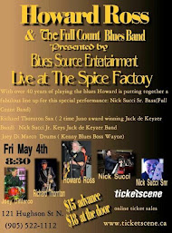BluesSource Presents: Howard Ross and the Full Count Blues Band