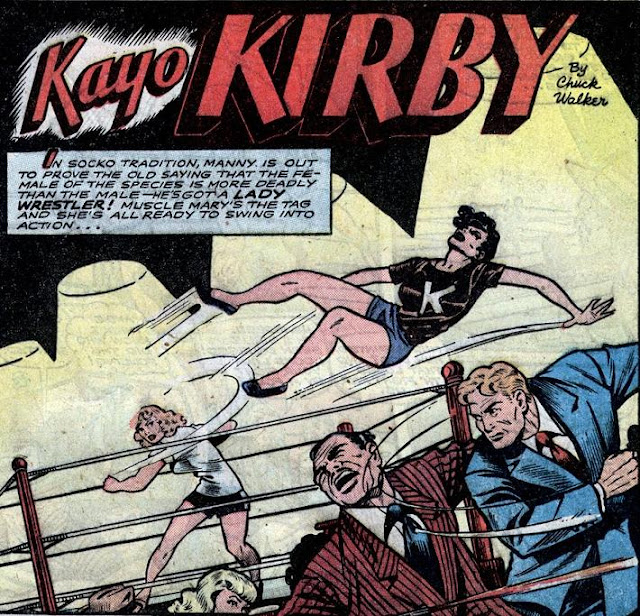 KAYO kirby Fight Comics wrestling
