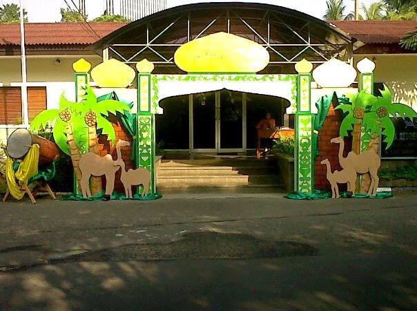 Dekorasi idul fitri sanggar aditya for Dekorasi party di hotel