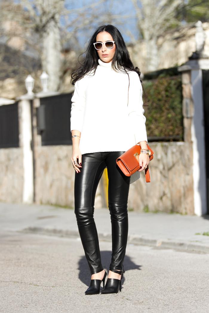 look estilo rock chic femenino blogger valenciana de moda