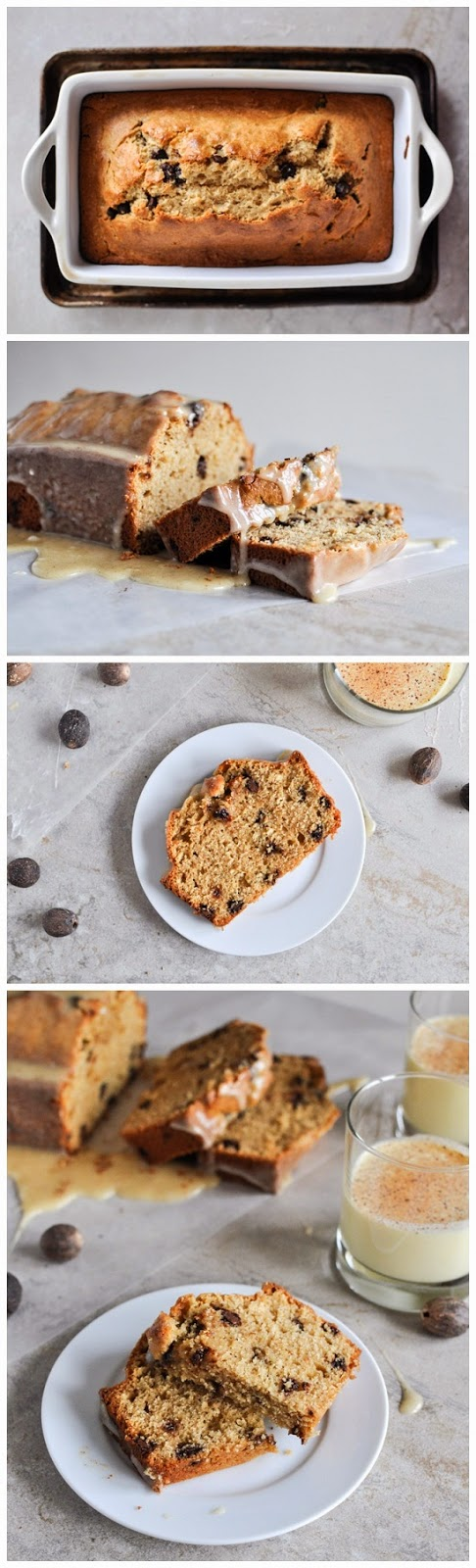 Eggnog Chocolate Chip Bread