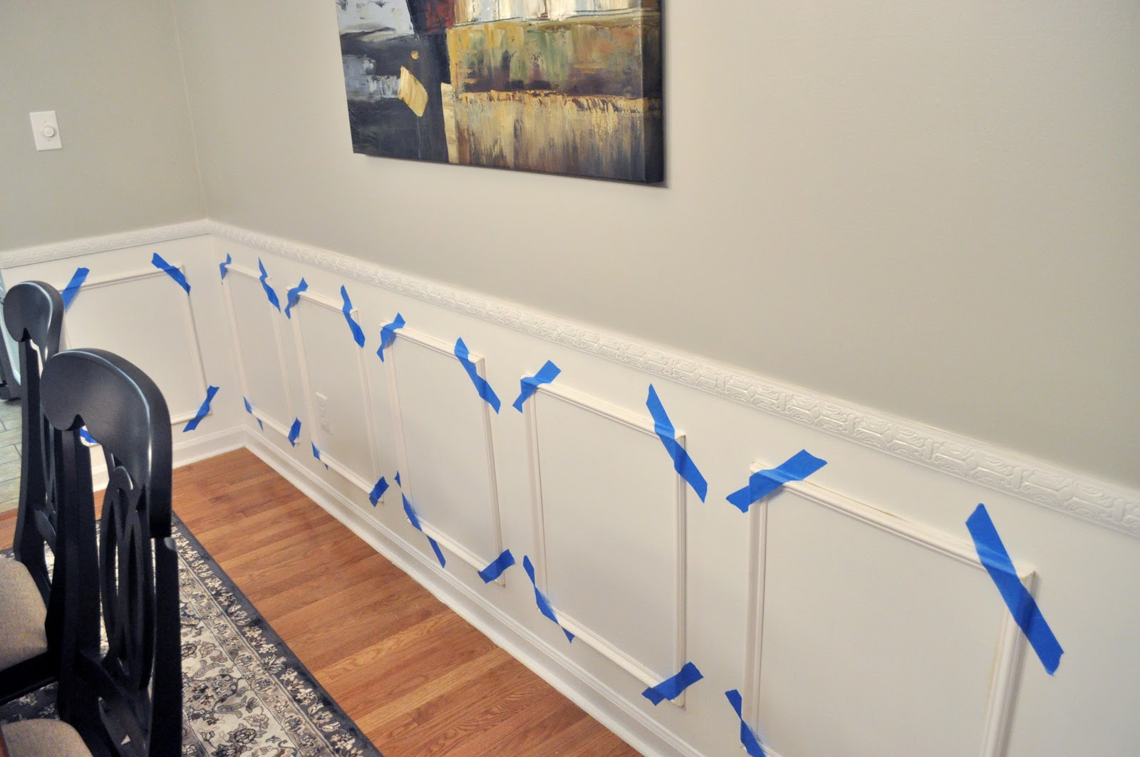 Not So Newlywed Mcgees Wainscoting Update