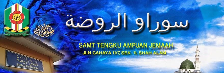 SURAU AR-RAUDHAH SAMTTAJ SHAH ALAM
