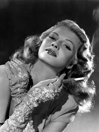 Rita Hayworth #1940s #gloves #40s #fashion #vintage