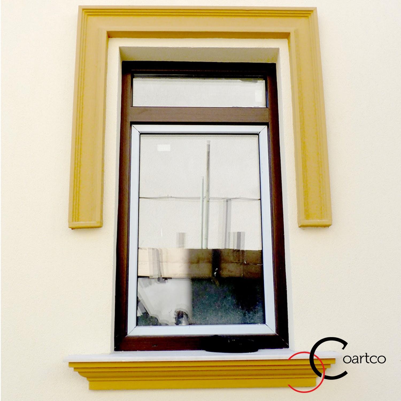 Profile decorative pentru geam, ancadramente polistiren pentru fatade case