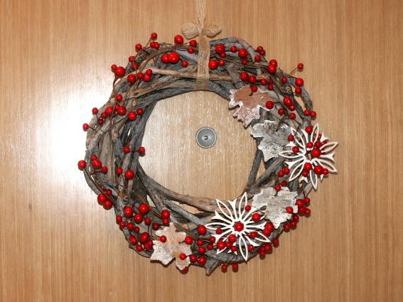 Lluvia de ideas corona de navidad for Coronas de navidad hechas a mano