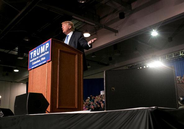 Donald Trump's Big Endorsement Event Quietly Becomes a Private Meeting